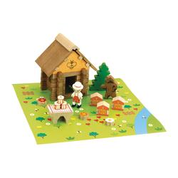 Maison du miel en bois 50 pièces
