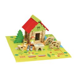 Maison du Comté en bois 50 pièces