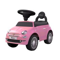 Porteur Fiat 500 rose