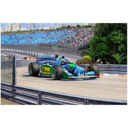 Maquette voiture Benetton Ford - Coffret Cadeau 25ème Anniversaire