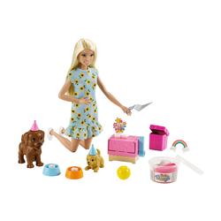 Poupée Barbie le bain des animaux