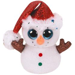 Peluche Beanie Boo's Flurry le Bonhomme de neige 15 cm