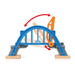 33961 - Brio World Smart Tech - Pont levant