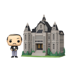 Figurine Pop Town Batman Alfred et le manoir wayne 80TH