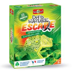 Défis Nature Escape opération camouflage