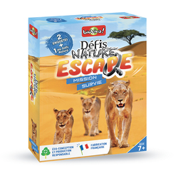 Défis nature escape - mission survie