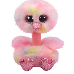 Peluche Beanie Boo's - Avery l'autruche 15 cm