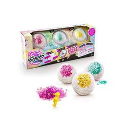 Bath Bomb Crystal - kit 3 bombes de bain