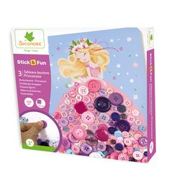 Tableaux boutons princesses