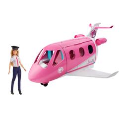 Poupée Barbie pilote avec avion de rêve