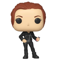 Figurine Natasha Romanoff Black Widow 603 Marvel Funko Pop