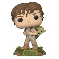 Figurine Luke Skywalker et Yoda 363 Star Wars Funko Pop
