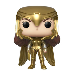 Figurine Wonder Woman 1984 Armure Dorée 323 Funko Pop Heroes
