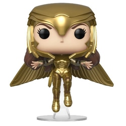 Figurine Wonder Woman 1984 Flying Armure Dorée Funko Pop Heroes 324