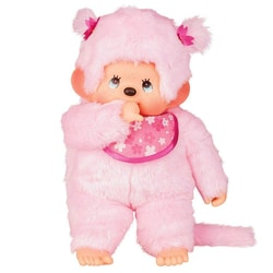 Peluche Monchhichi Pinky 80 cm