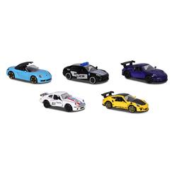 Coffret 5 Porsche premium Majorette