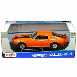 Voiture Chevrolet Camaro orange