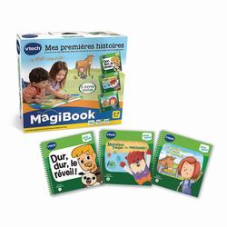 Magibook - Pack 3 livres d'histoires