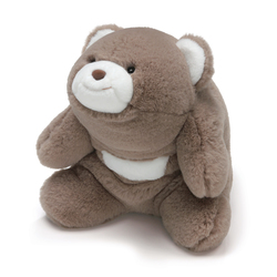 Ours en peluche Snuffles taupe 25 cm