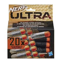 Munitions Nerf Ultra - Pack de 20 fléchettes Nerf Ultra