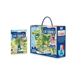 Voyage, découvre, explore la France - puzzle de 210 pièces