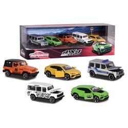 Coffret 5 voitures 4x4 SUV Majorette