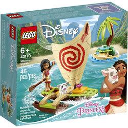 43170-LEGO® Disney Princess L'aventure en mer de Vaiana