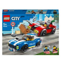 60242 - LEGO® City l'arrestation policière sur l'autoroute
