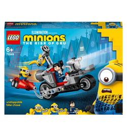 75549 - LEGO® Minions - La course-poursuite en moto