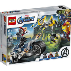 76142-LEGO® Marvel Super Heroes - L'attaque du Speeder Bike des Avengers