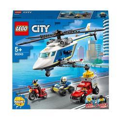 60243 - LEGO® City la poursuite en hélicoptère de la police