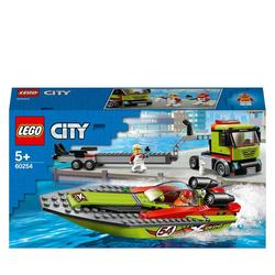 60254 - LEGO® City  le transport du bateau de course