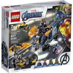 76143-LEGO® Marvel Super Heroes - L'attaque du camion des Avengers