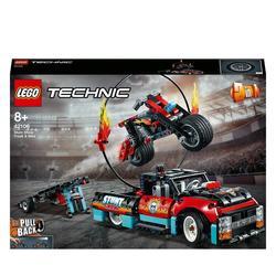 42106 - LEGO® Technic la cascade du camion et de la moto
