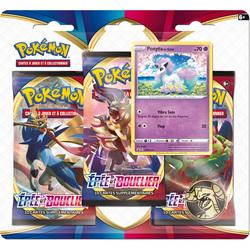 Pack 3 boosters Pokémon épée et bouclier