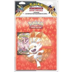 Pack portfolio et booster Pokémon épée et bouclier 2