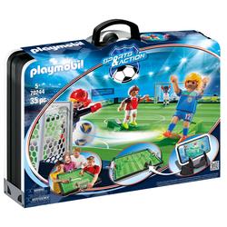 70244 - Playmobil Sports & Action - Terrain de football transportable