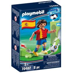 70482 - Playmobil Sports & Action - Joueur de foot espagnol