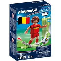 70483 - Playmobil Sports & Action - Joueur de foot belge