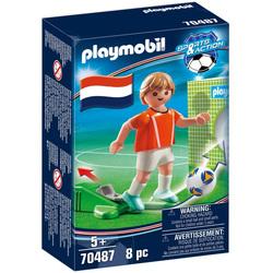 70487 - Playmobil Sports & Action - Joueur de foot néerlandais