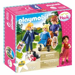 70258 - Playmobil Heidi - Clara avec son père et Mlle Rottenmeier