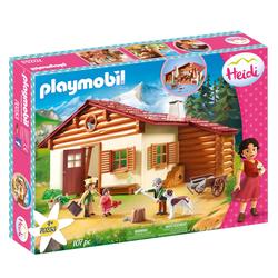 70253 - Playmobil Heidi - Heidi avec grand-père et chalet
