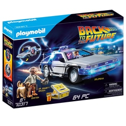 70317 - Playmobil Retour vers le futur -  DeLorean