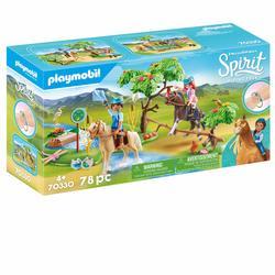 70330 - Playmobil Spirit - Mare avec végétation