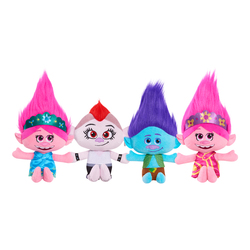 Peluche Trolls World Tour 20 cm avec sons