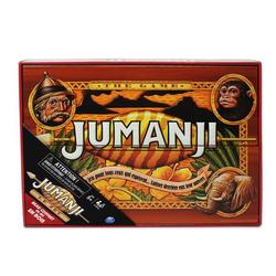 Jeu de plateau Jumanji en bois - Edition Rétro