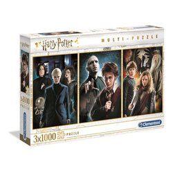 3 Puzzles 1000 pièces Harry Potter