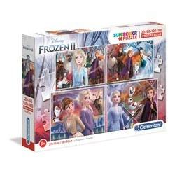 Coffret 4 puzzles - La reine des Neiges 2