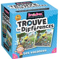 Brainbox - Le jeu des différences en vacances