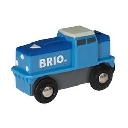 33130 - Brio World - Locomotive de fret bleue à pile
